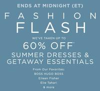 Up to 60% OFF Summer Dress & Getaway Essentials Sale @ Saks Fifth Avenue
