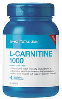 $16.99 GNC Total Lean™ L-Carnitine 1000 60 Tablets