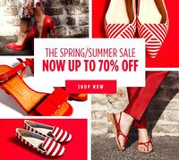 Up To 75% Off The Spring/Summer Sale @ Shoescribe