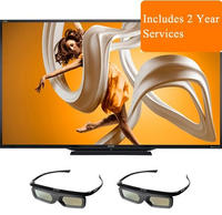 $4999.99 Sharp 90-inch Aquos HD 1080p 120Hz 3D Smart LED HDTV with 2 Pairs of 3D Glasses