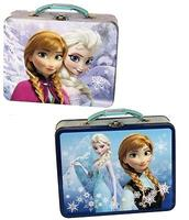$19.99 Disney Frozen Embossed Elsa and Anna Tin Lunch Box