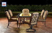 $749.97 Agio Bella Luna 7pc Lighted Dining Set