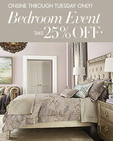 25% OFF Select Bedroom Merchandise @ Neiman Marcus