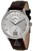 $288.00 Edox Men's Les Vauberts Day Retrograde Watch 34005-3A-ABN