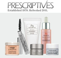 4 Free Deluxe Samples with any Purchase @ Prescriptives