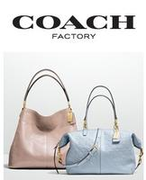 Up to 70% Off @ Coach Factory
