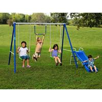 $89.00 Flexible Flyer Fun-Time-Fun Metal Swing Set