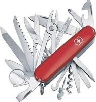 $53.99 New Swiss Army 53501 Red Large Swiss Champ Victorinox Multi Tool Knife Sale