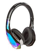 $128.88 Monster® Diamond Tears Edge On-Ear Headphones - Black/White (blemished package)