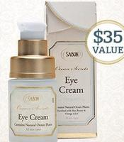 Receive a FREE Full Size Eye Cream with order $75+ @ Sabon