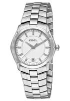 $519.99 Ebel Women's Classic Sport Silver Dial Stainless Steel Watch, 9954Q31-163450