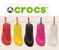 $30 2 Pairs of Crocs Chawaii Flips