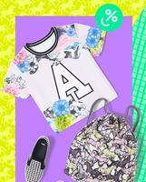 25% OFF Women's power print + 50% OFF Men's awesome pickes@ ASOS