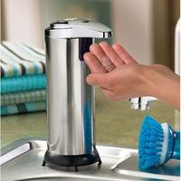 $12.99 Journey's Edge Stainless Steel Portable Motion Activated Soap Dispenser w/Stand