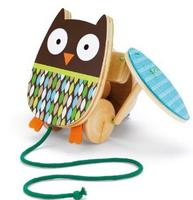 $14.00 Skip Hop Treetop Friends Flapping Owl Pull Toy