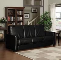 $269 Baja Renu Leather Convert-a-Couch and Sofa Bed (Brown)