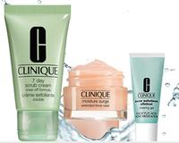 3 FREE Summer Favorites  + FREE Shipping with any purchase @ Clinique