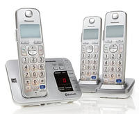 $79.95 Panasonic DECT 6.0 PLUS 3-pack Cordless Phones