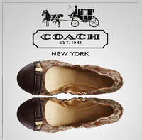 Up to 60% OFF Coach Flats and Loafers @ 6PM.com