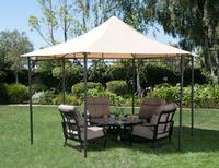 $99.00 Pavillion Hexagon Roof Style Gazebo with Top Finial