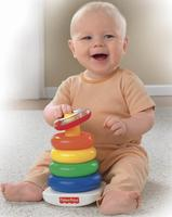 New Lowest Price! Fisher-Price Brilliant Basics Rock-a-Stack