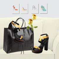 Up to 63% Off Valentino, Saint Laurent, Gucci & More Designer Handbags & Shoes in Black on Sale @ Belle and Clive