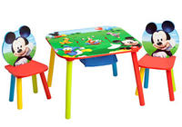 $39.98 Disney Mickey Mouse Storage Table and Chairs Set