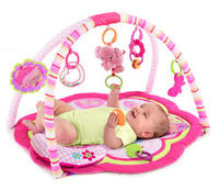 $24.98 Bright Starts Safari Celebration Activity Gym, Pink