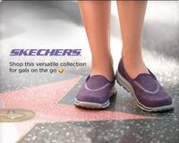 Up to 50% OFF+ $15 OFF +extra 25% OFF  Skechers GOwalk sneakers @ Kohl's