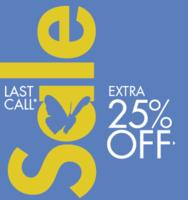 Extra 25% Off Last Call Sale @ Neiman Marcus