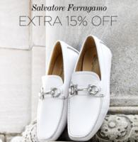 Extra 15% Off Men's Salvatore Ferragamo Shoes On Sale!