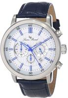 $79.99 Lucien Piccard Men's 12011-023S-BL Monte Viso Chronograph Watch