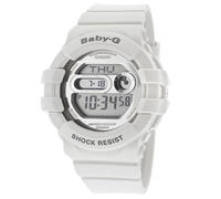 $65.00 Casio Women's Baby-G Digital Multi-Function White Resin Watch BGD141-7CR