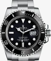 $6849.99 Rolex Submariner Black Dial Ceramic Bezel Steel Mens Watch 116610LN