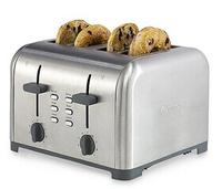 Kenmore 4-Slice Dual Controls Toaster Stainless Steel