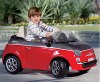 $129.00 Peg Perego Fiat 500 12-Volt Battery-Powered Ride-On
