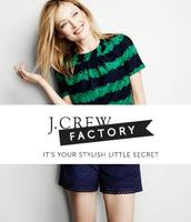 50% Off Men's and Women's Shorts and Swim @ J.Crew Factory