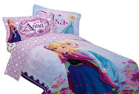 $26.39 Disney 64 by 86-Inch Frozen Celebrate Love Comforter, Twin