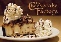 Half Price  Any Slice @ Cheesecake Factory