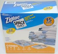 $27.48 Ziploc Space Bag 15 Bag Space Saver Set