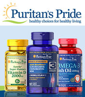 20% off $100  + up to 75% off Sitewide Puritans Pride Brand @ Puritans Pride