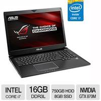 "$1299.99 ASUS ROG 17.3"" Notebook Intel Core i7 16GB  GTX 870M  (G750JS-TS71)"