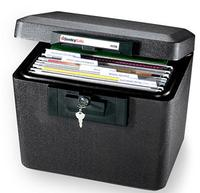 $33.13 SentrySafe 0.61-Cubic-Foot Fireproof Security File