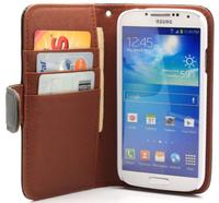 $6.99 Leather Wallet Folio Case for Samsung Galaxy S4