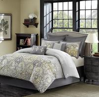 $49.99  Madison Park Orrissa 8-Piece Queen or King Comforter Set