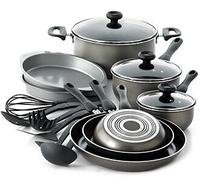 $49.99 Farberware Nonstick Dishwasher Safe 17 Piece Cookware Set