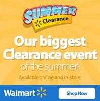 From $.71 Walmart Summer Clearance Event