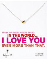 $31.20 Dogeared  Think of Every Great Thing Necklace, 18""