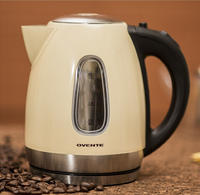 From $22.99 Ovente KS96BG Stainless Steel Cordless Electric Kettle