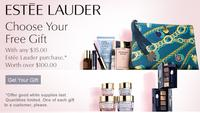 Free 7 piece gift set with any $35 Estee Lauder purchase @ Dillard's
